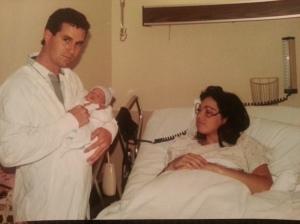 Baby Karla Ann, Brad & Cindy